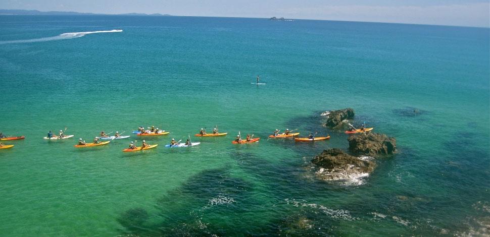 sea kayak tour booking system